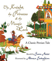 cover of The Knight, the Princess & the Magic Rock
