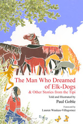 cover of The Man Who Dreamed of Elk Dogs