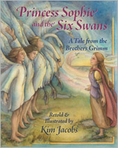 Princess Sophie and the Six Swans cover