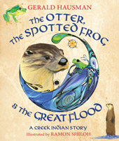 cover of Otter, Spotted Frog & Great Flood