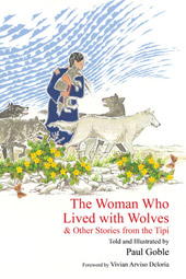 cover of The Woman Who Lived with Wolves